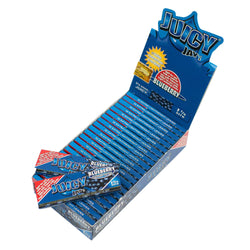 Flavored Rolling Papers Regular Size Blueberry Single Pack