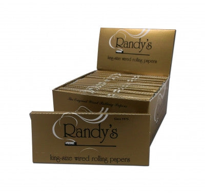 Wired King Size Rolling Papers 110mm Gold