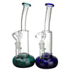 11 Inch Stemless Bong with Disc Perc