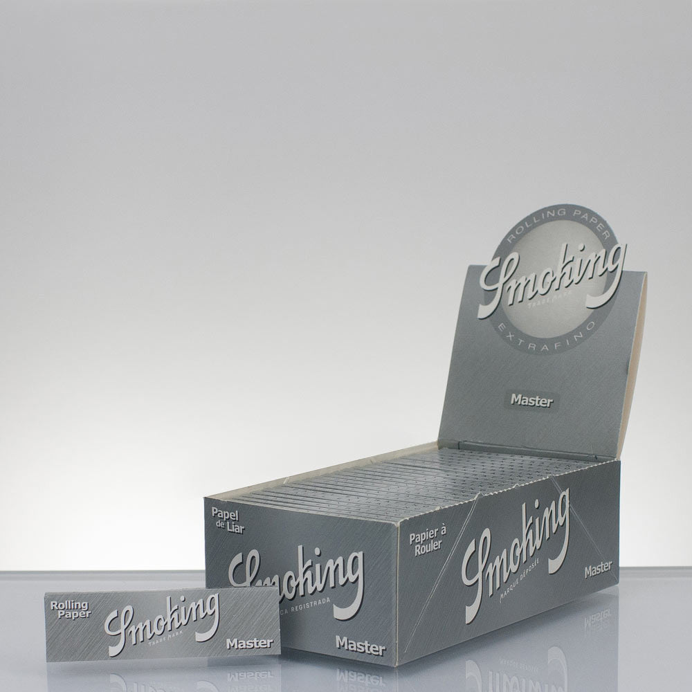Rolling Papers Regular Size Extra Slim Silver Single Pack