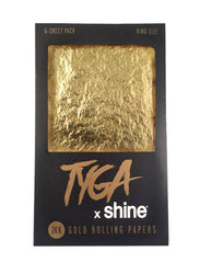 Rolling Papers King Size 6 Pack 24k Gold