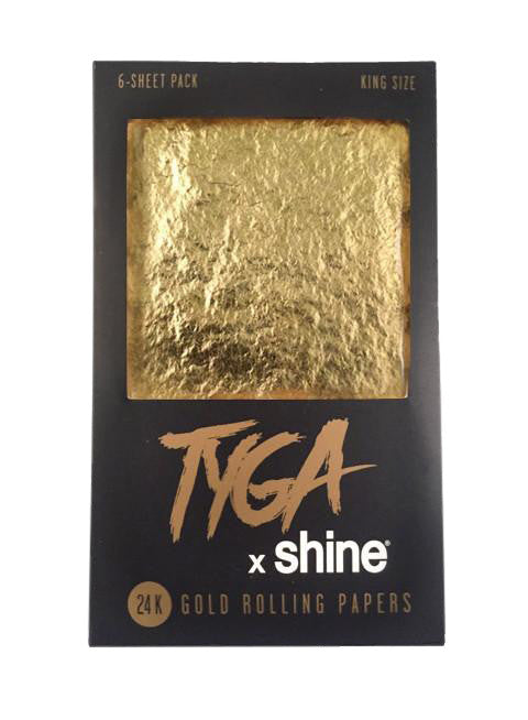 Shine King Size 6 Pack 24k Gold