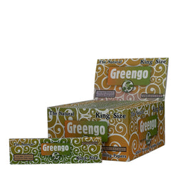 Rolling Papers King Size Slim + Tips Natural Unbleached Box