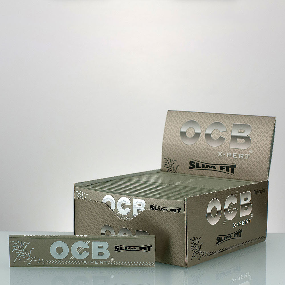OCB Slim Fit X-Pert Rolling Papers Single Pack