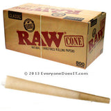 Raw Natural Unrefined Cones 800 box