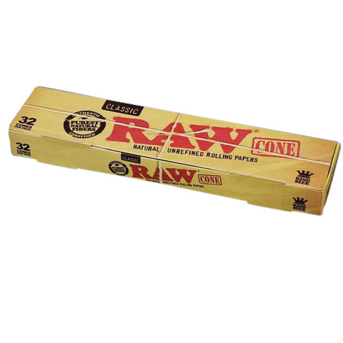 Pre Rolled Cones King Size 32 Pack Box