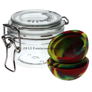 Oil Slick Non Stick Silicone Large Ball With FREE Storage Jar