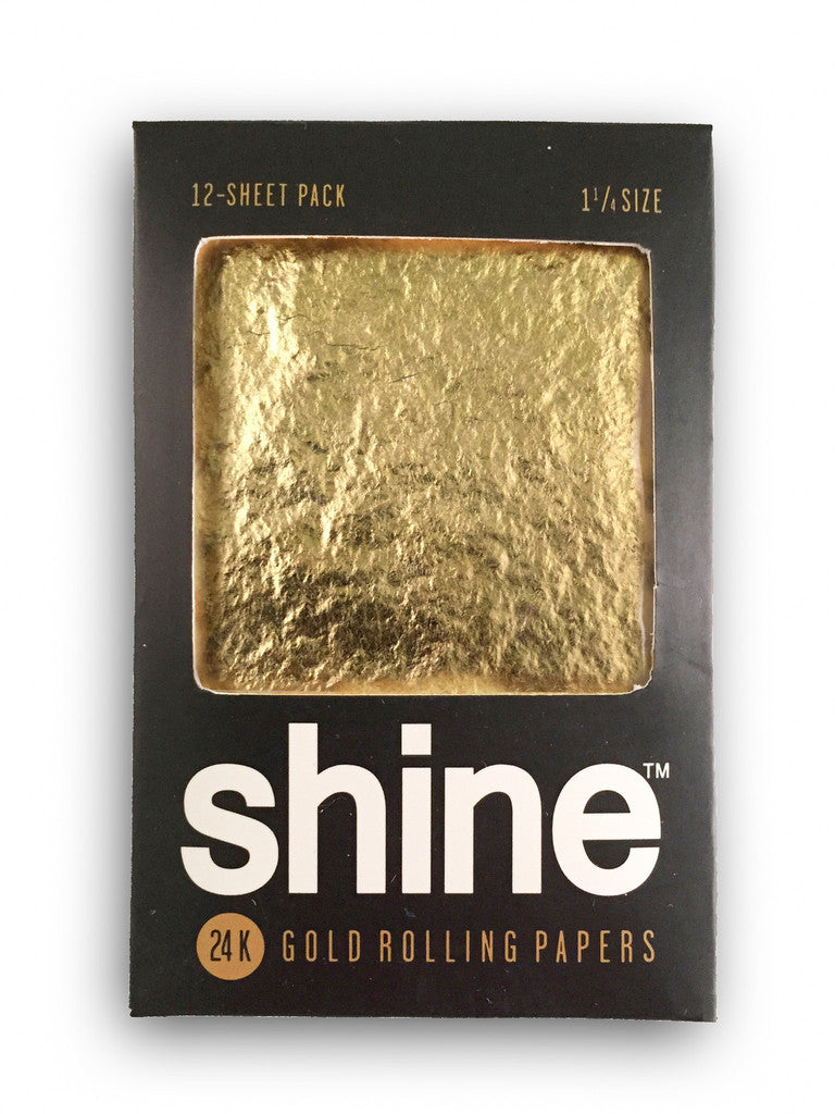Rolling Papers Regular Size 12 Pack 24k Gold