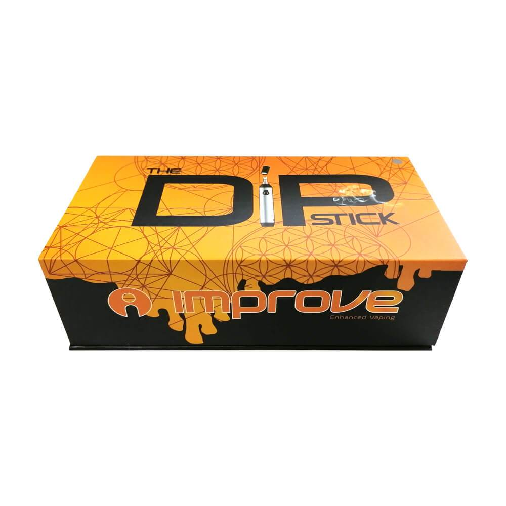 The DipStick Vaporizer box