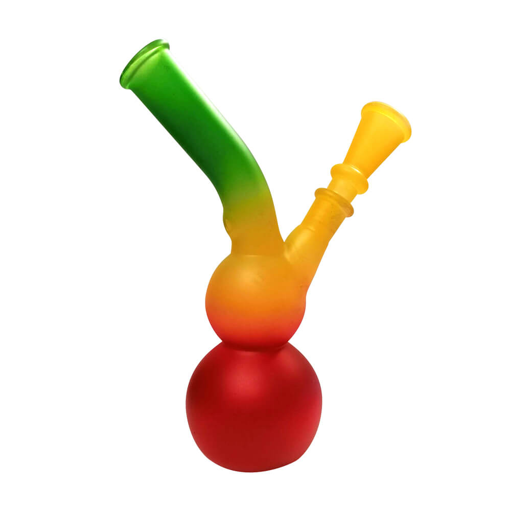 Mini Coloured Glass Bongs GC003
