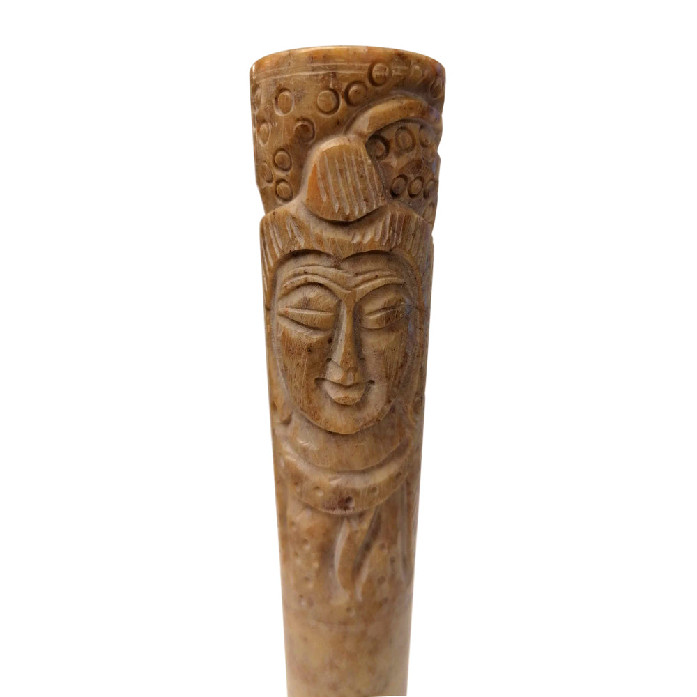 Boxed Clay Chillum