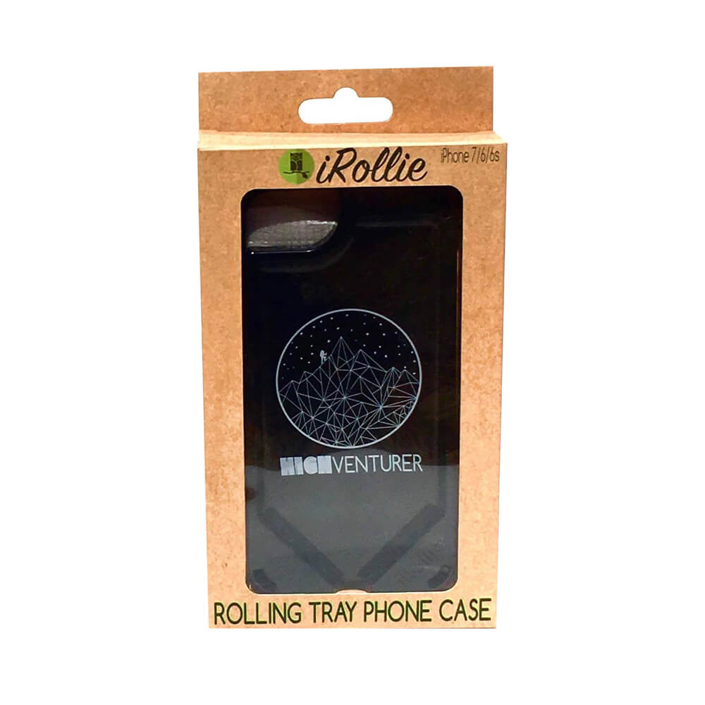 iRollie phone case and rolling tray