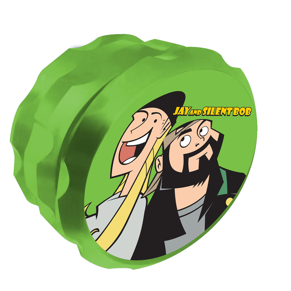 Jay and Silent Bob Jay and Bob Grinder Green UK
