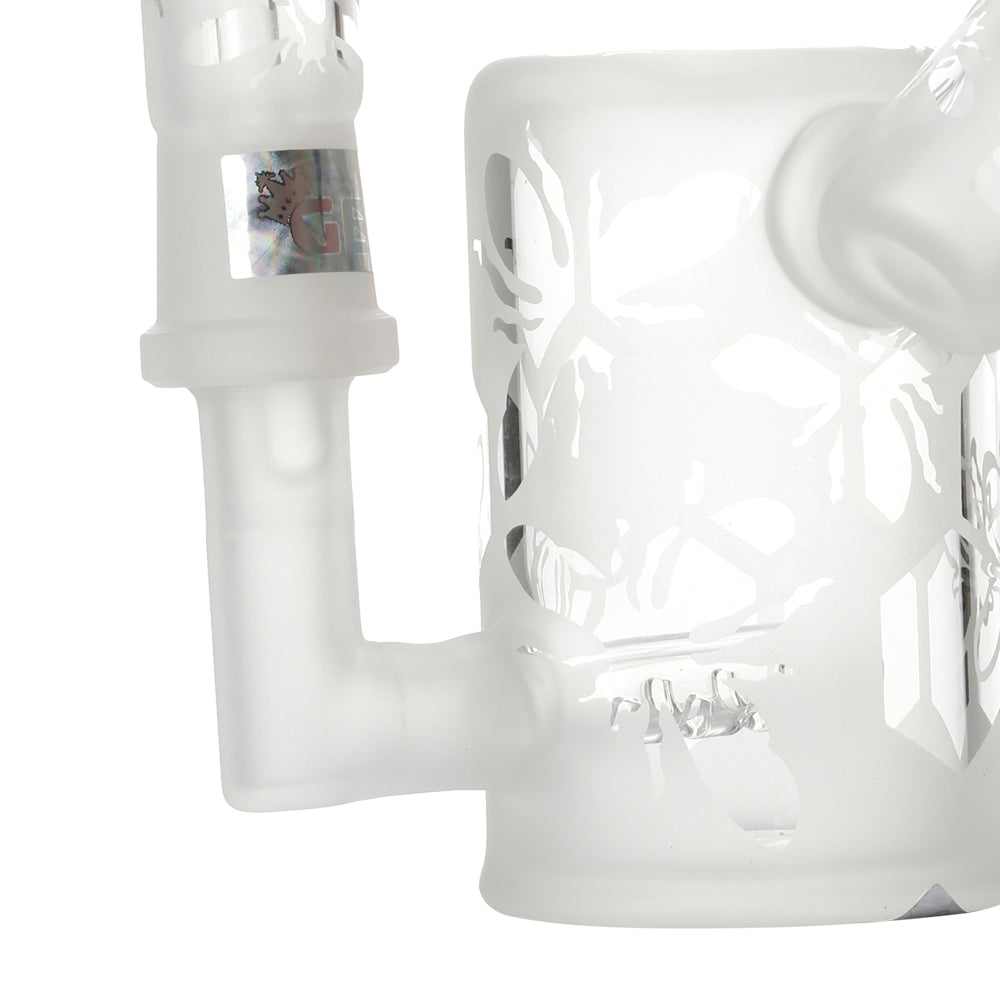 Frosted Bees Knees Mini Concentrate Bubbler
