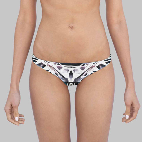 This Is Our Sophia Sporty Hipster Bikini Bottoms In Art Printed By Jenny Hager