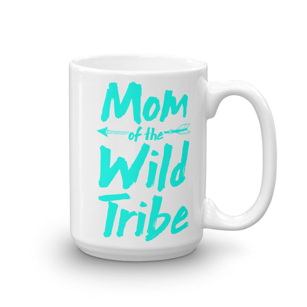 Mom of The Wild Tribe Mug