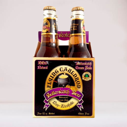 Pack 4 Cervezas de Mantequilla de Harry Potter Sin Alcohol ( BUTTERBEER SODA ) - Due Company - BODECA