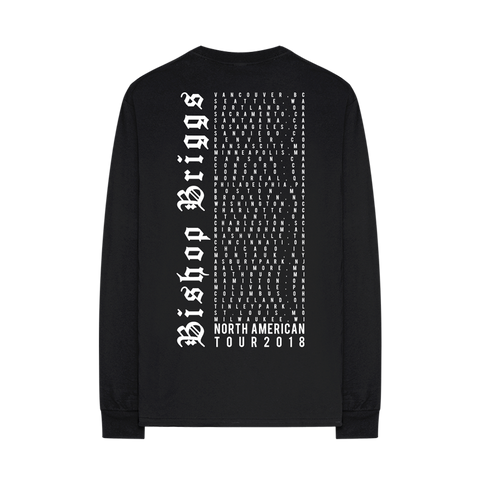 CHURCH OF SCARS TOUR LONG SLEEVE T-SHIRT