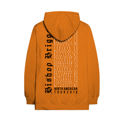 BISHOP HEAD TOUR HOODIE