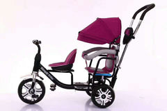 Poussette Tricycle Double