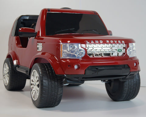 Land Rover Discovery - Rouge voiture enfant