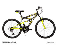 Vélo de 24 po Rock Creek de Huffy