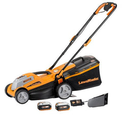Tondeuse sans fil 2-en-1 24 V Max Li-on de LawnMaster 14 po