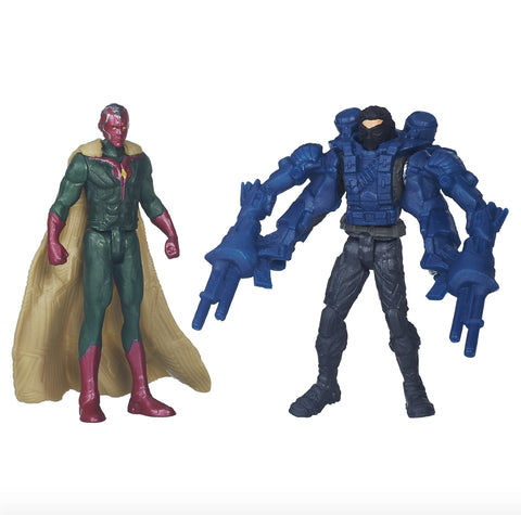 Figurines Captain America vs Marvel's Crossbones : Civil War
