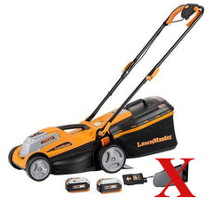 Tondeuse sans fil 2-en-1 24 V Max Li-on de LawnMaster 14 po-B