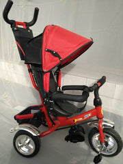 Tricycle poussette DHT023 pour enfant (Photos titre indicatif)