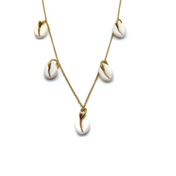 Collar Cowry Matiné Gold