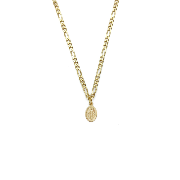 Collar Chain Milagrosa Virgin Gold