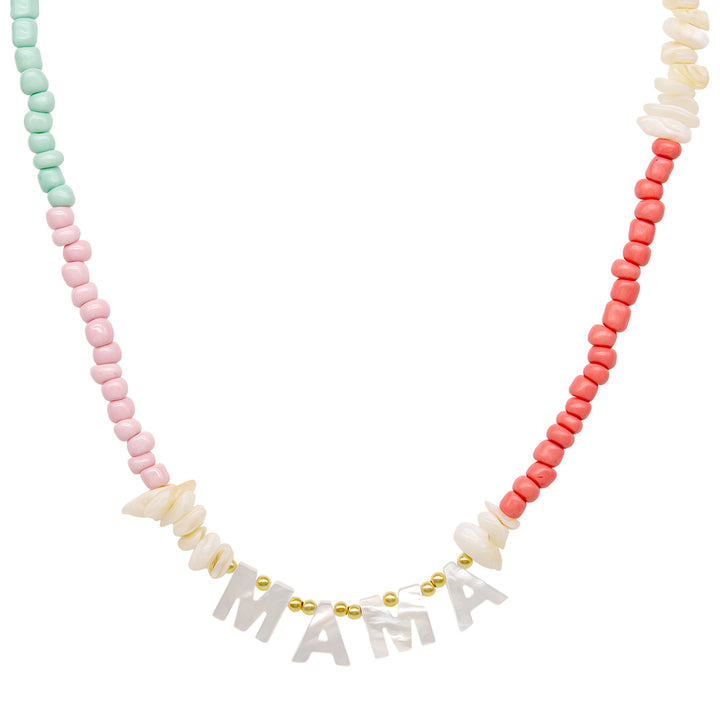 Collar Faith Multicolor Nacar (Personalizable)
