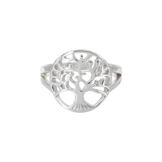 Anillo Tree of Life M Silver