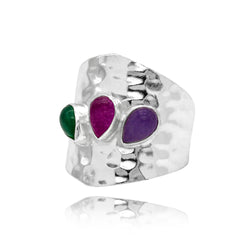 Anillo Martely Colors Silver
