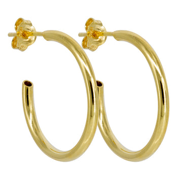 Thin Hoop Gold