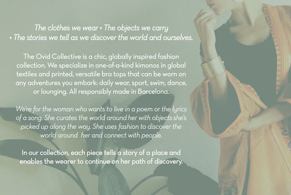 About our brand The Ovid Collective