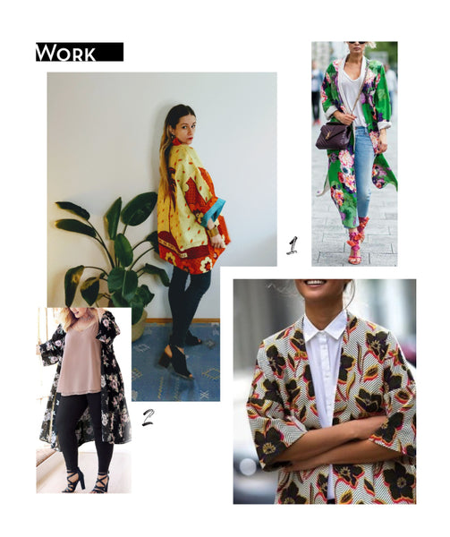 How to wear a kimono to work style guide