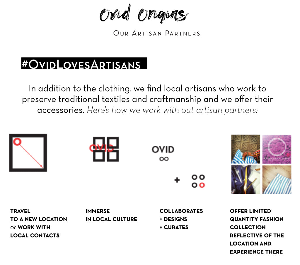 How we work with our fashion artisan partners