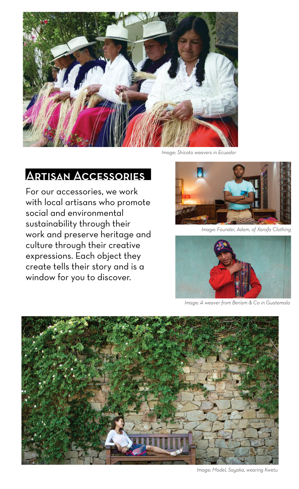 About our artisan partners