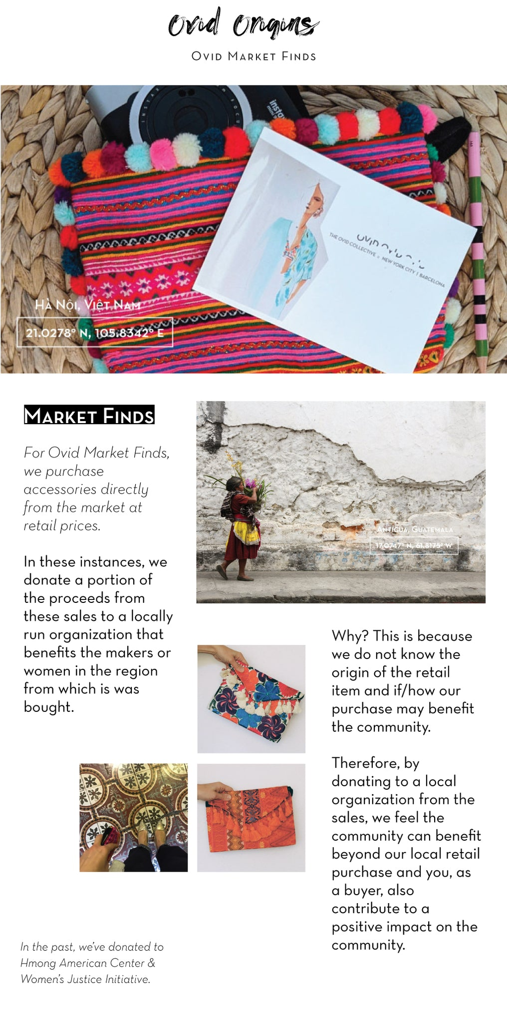 Ovid Collective Market Finds Shop the World in our global accessories