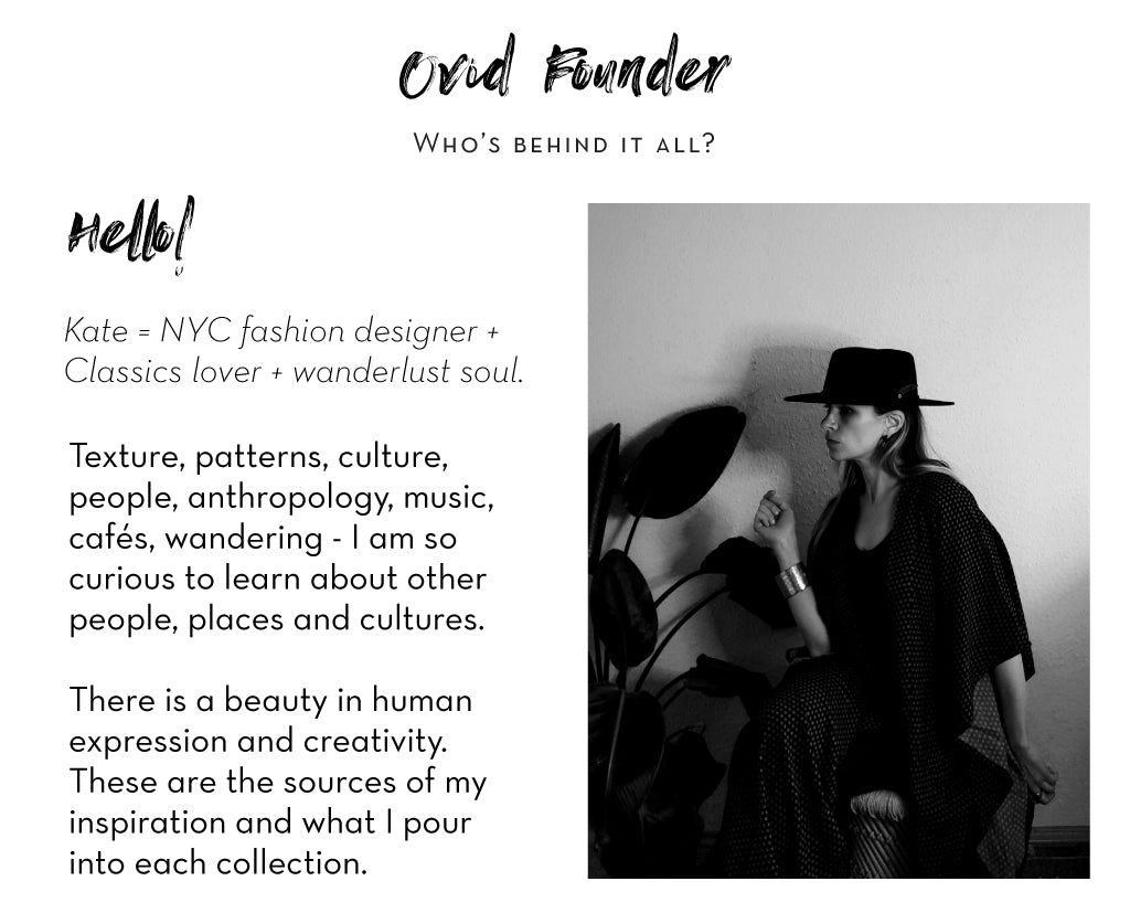 The Ovid Collective Founder Information