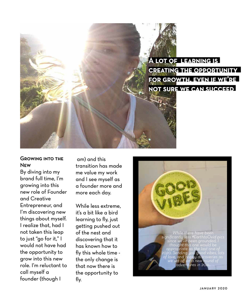 Ovid Collective Magazine Article - Learnings from 2020