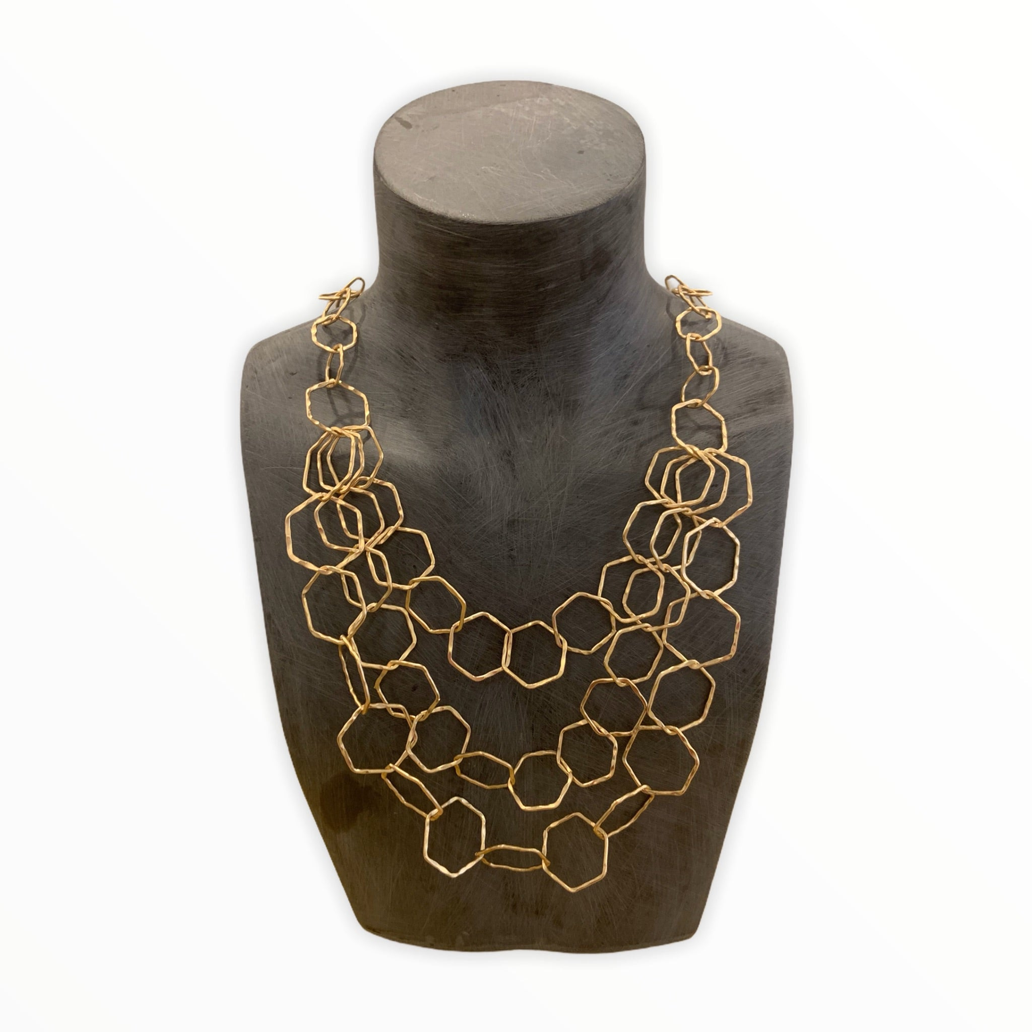 Tons of Hexagons Necklace