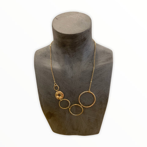 Circles With Details Necklace