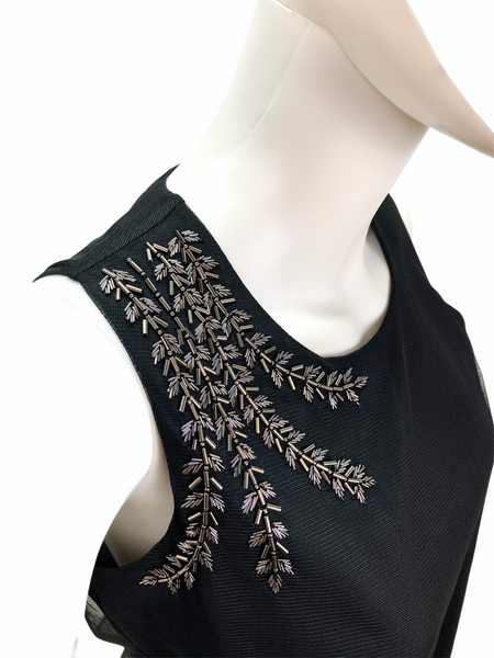Embroidery Detail Halter Top