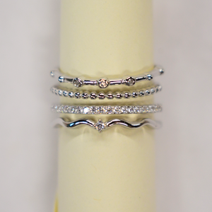 Eternity Stack Ring