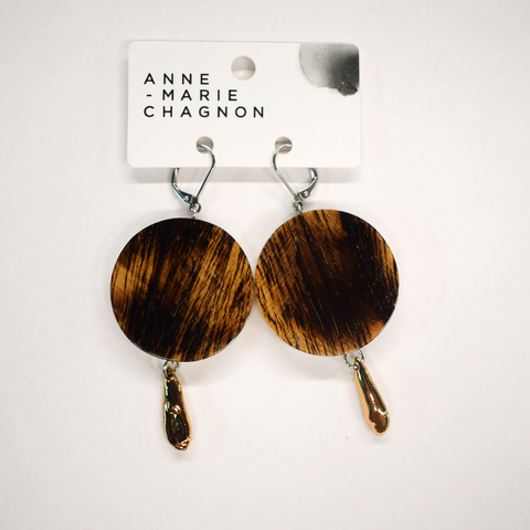 SHARON Circle Dangle Earring