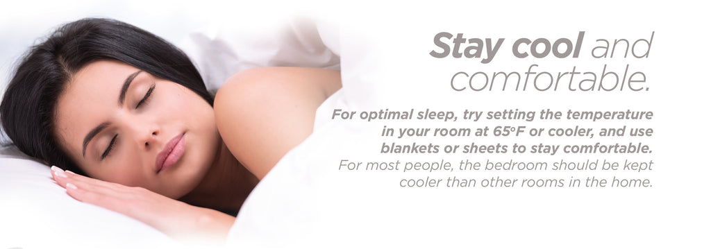 Stay Cool & Comfortable | Quality of Sleep Tips | Mediflow