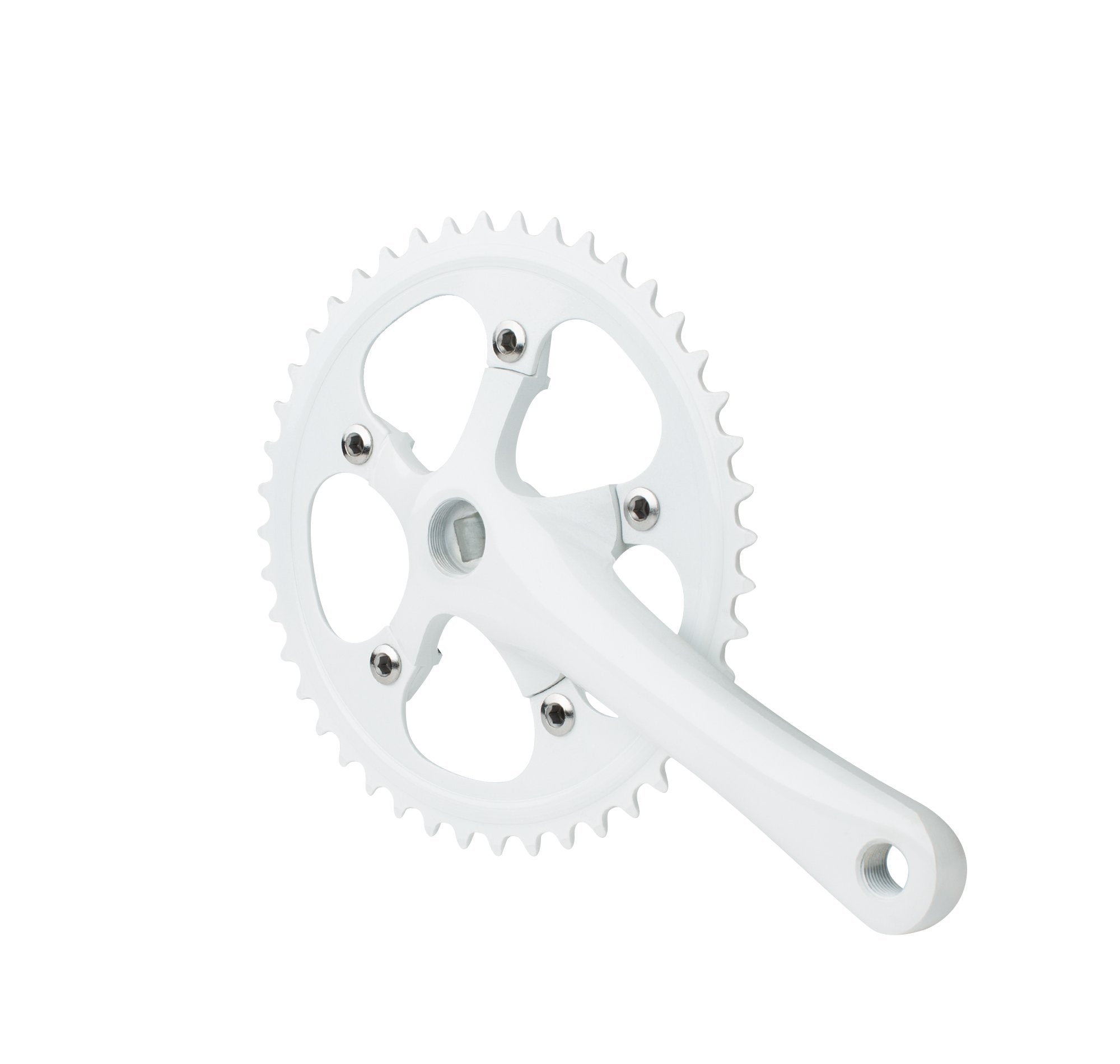 White Track / Fixed Gear Crankset
